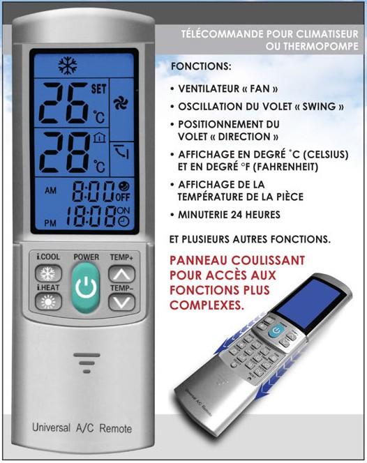 T l commande universelle - Programmer telecommande universelle ...